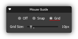 Mouse Guide Grid