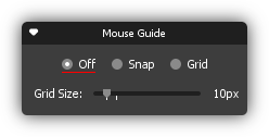 Mouse Guide Grid Size