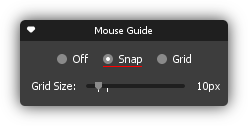 Mouse Guide Snap